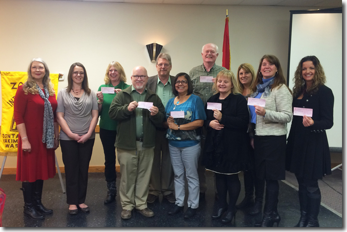 2014 Local Grant Recipients