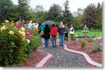 Dedication of the Yakima Arborteum Rose Garden