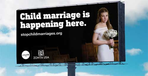 eND cHILD mARRIAGE IN THE us